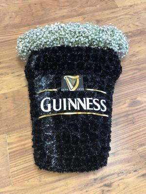 Guinness pint glass tribute