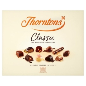 Thorntons chocolates 262g