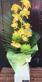 Orchid stem arrangement