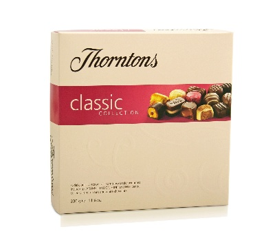 Thorntons chocolates 248g